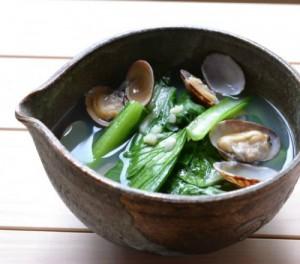 あさり中華風スープ